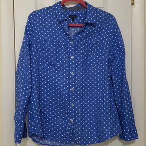 Talbots blue top